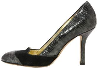 DSQUARED2 Grey Patent Leather Heels