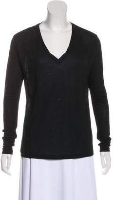 J Brand Long Sleeve V-Neck Top
