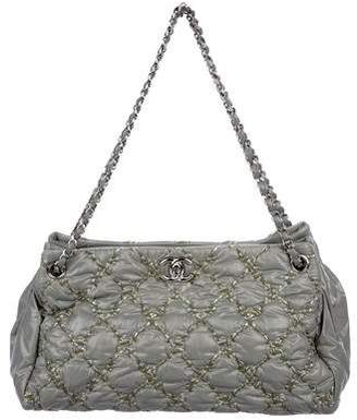 Chanel Paris-Byzance Nylon Tweed on Stitch Tote
