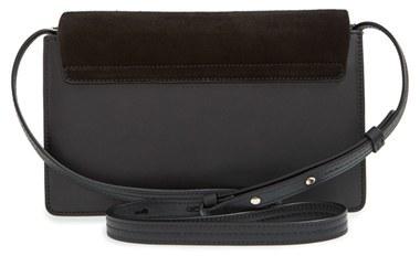 Chloé Small Faye Leather Shoulder Bag - Black