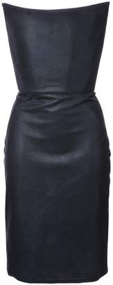 Gareth Pugh strapless corset dress