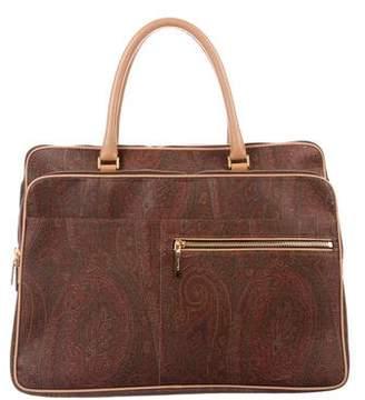 Etro Paisley Print Handle Bag