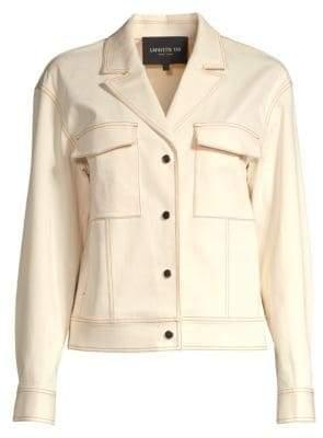 Lafayette 148 New York Theodosia Denim Jacket