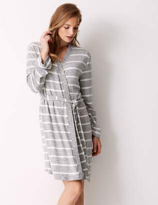 Marks and Spencer Striped Lounge Wrap Dressing Gown