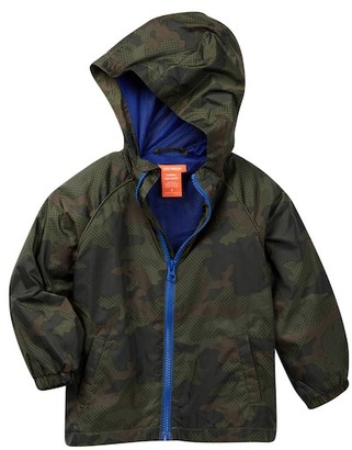 Joe Fresh Camo Windbreaker Jacket (Toddler & Little Boys) $29 thestylecure.com
