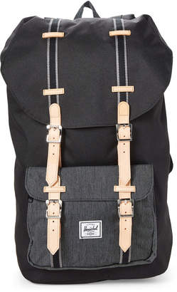 Herschel Black Little America Utility Backpack
