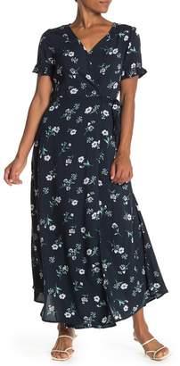 b47b1512a TOV Floral Print Wrap Front Maxi Dress · Nordstrom Rack ...