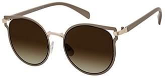 Elie Tahari Women's Th701 Ndgld Round Sunglasses