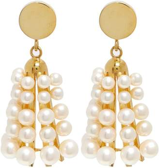 Sophia Kokosalaki Carillon II pearl earrings
