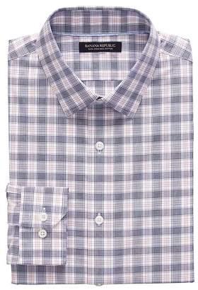 Banana Republic Camden Standard-Fit Non-Iron Tartan Plaid Shirt