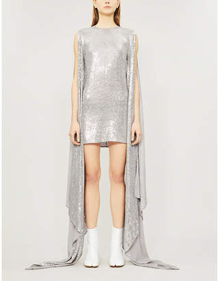 Ashish Luna sequin-embellished dress