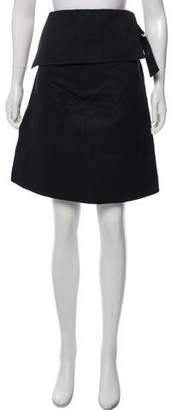 Derek Lam Woven Knee-Length Skirt w/ Tags