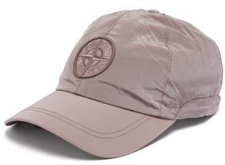 Stone Island - Logo Embroidered Nylon Baseball Cap - Mens - Pink