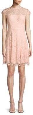Julia Jordan Floral Lace Dress