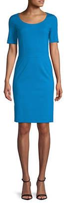 HUGO Katilla Short-Sleeve Sheath Dress