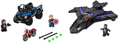 Black Panther Pursuit Playset by LEGO - Captain America: Civil War