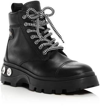 Miu Miu Women's Never Mind Crystal Boots