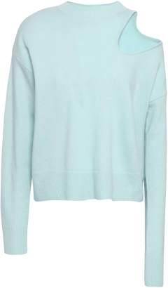 CHRISTOPHER ESBER Cutout Wool And Cashmere-blend Sweater
