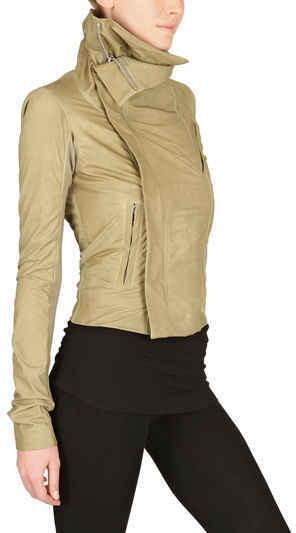 Rick Owens Biker Velo Leather Jacket