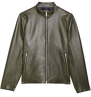 Theory Men's Kellerherm Leather Jacket