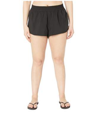 Volcom Plus Size Women's Simply Solid 2 Inch Boardshort