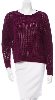 Inhabit Cashmere Open Knit Sweater w/ Tags $95 thestylecure.com