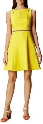 KAREN MILLEN Cutout Detail Dress $360 thestylecure.com