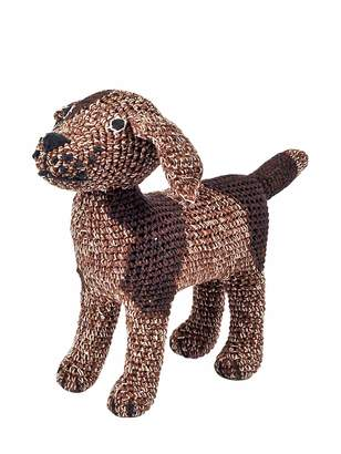 Anne Claire Hand-Crocheted Organic Cotton Doggy