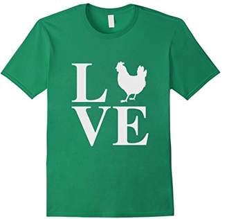 I Love Chickens Women Men Kids T-Shirt