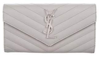 Saint Laurent Monogram Envelope Wallets
