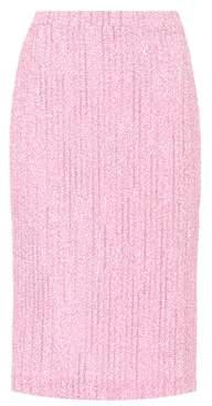 Alessandra Rich Tweed pencil skirt