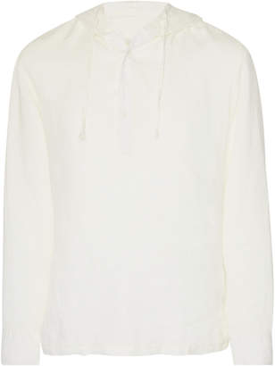 Onia Kai Hooded Linen Shirt
