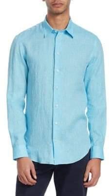 Emporio Armani Linen Button-Down Shirt