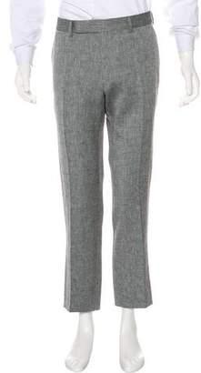 Tom Ford Wool & Linen-Blend Dress Pants