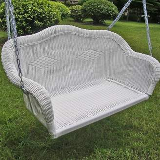 Bay Isle Home Soucy Wicker Porch Swing