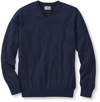 L.L. Bean L.L.Bean Cotton Cashmere V-Neck Sweater