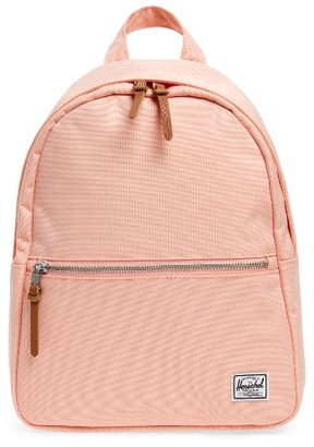 Herschel Supply Co. 'Town' Backpack - Pink $60 thestylecure.com