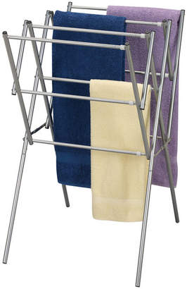 Household Essentials Expandable Dryer in Satin Silver