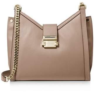f69b0bd578e6 MICHAEL Michael Kors Brown Chain Strap Shoulder Bags - ShopStyle