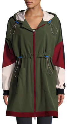 The Upside Saratoga Hooded Colorblock Anorak Jacket