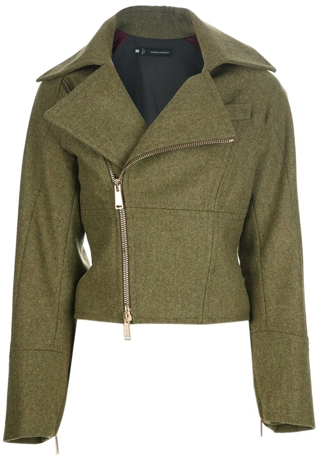 DSquared DSQUARED2 zipped jacket