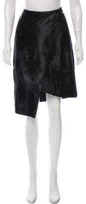 J. Mendel Fur Knee-Length Skirt