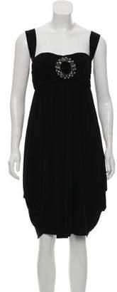 Fendi Embellished Knee-Length Dress