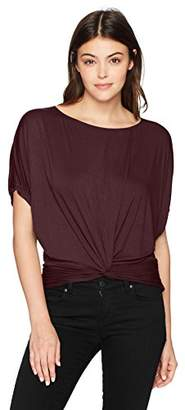 Max Studio Women's Bubble Hem Knit