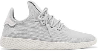 adidas Pharrell Williams Tennis Hu Primeknit Sneakers - Light gray