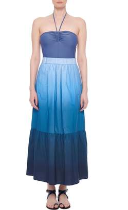 Tibi Dip Dye Full Skirt