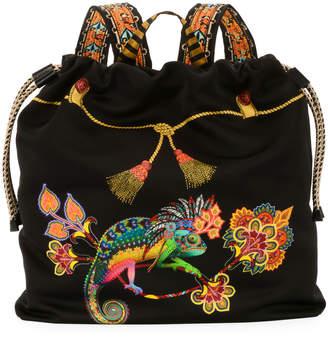 Etro Zain Stampa Harlem Backpack