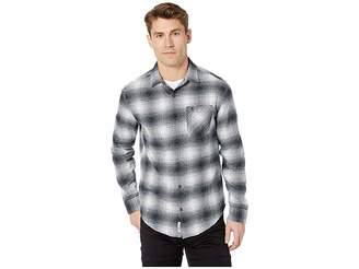 Original Penguin Long Sleeve Woven Plaid Flannel
