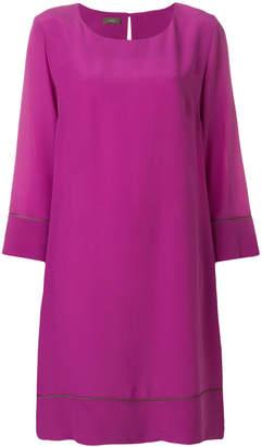 Altea contrast piping dress