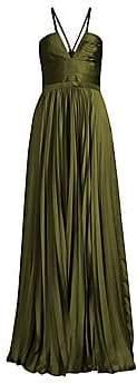 AMUR Women's Valerie Pleated Gown
